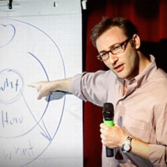 """Simon Sinek: """"People Don't Buy What You Do, They Buy Why You Do It"""""""