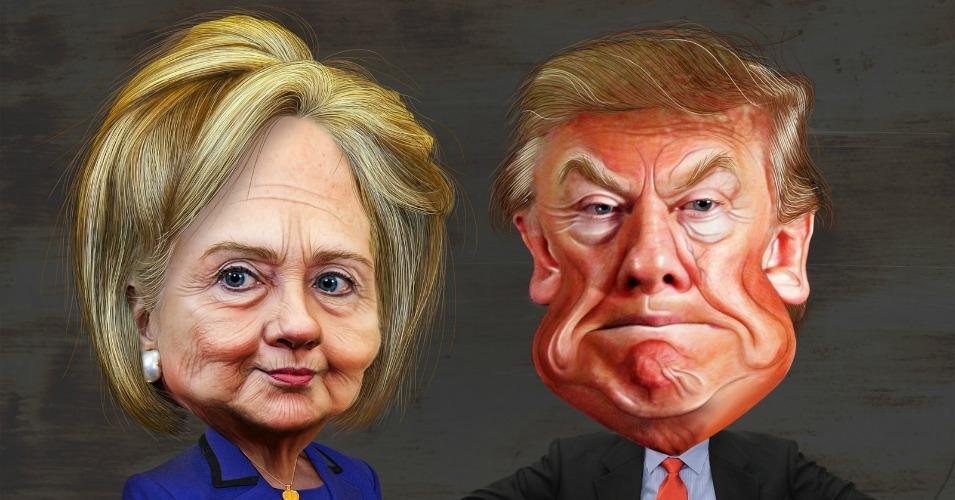 Clinton-Trump-Business